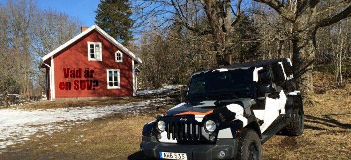Jeep Wrangler är en SUV