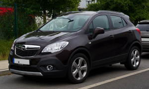 Front angle - Opel Mokka