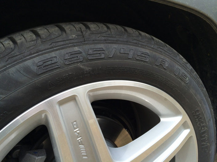 19 inch wheels - Mercedes-Benz GLK 220 CDI
