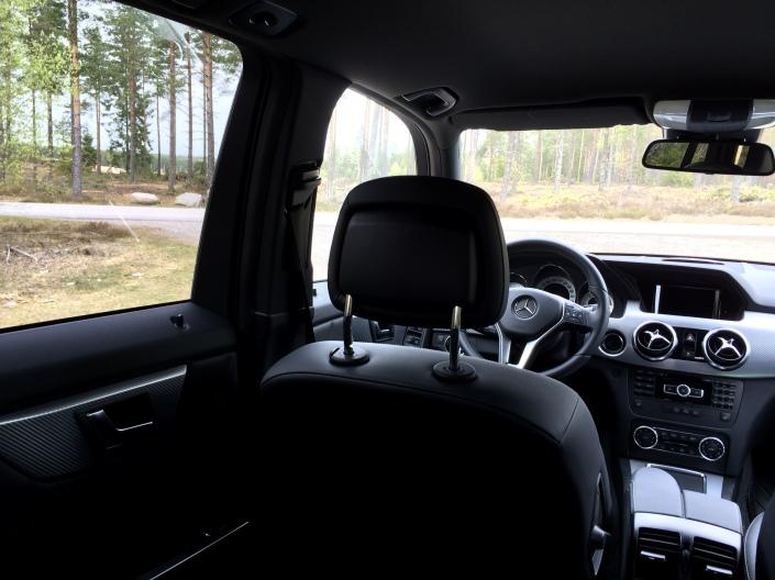 A and B pillars - Mercedes-Benz GLK 220 CDI