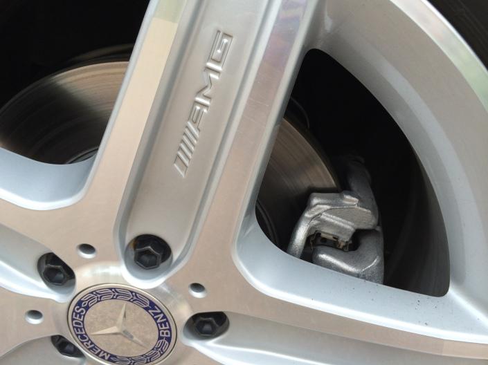 AMG alloy wheels - Mercedes-Benz GLK 220 CDI