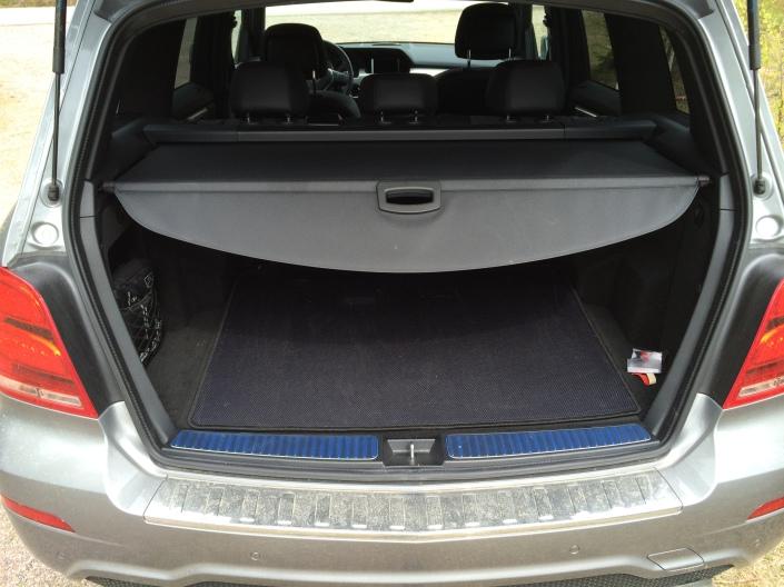 Cargo space - Mercedes-Benz GLK 220 CDI