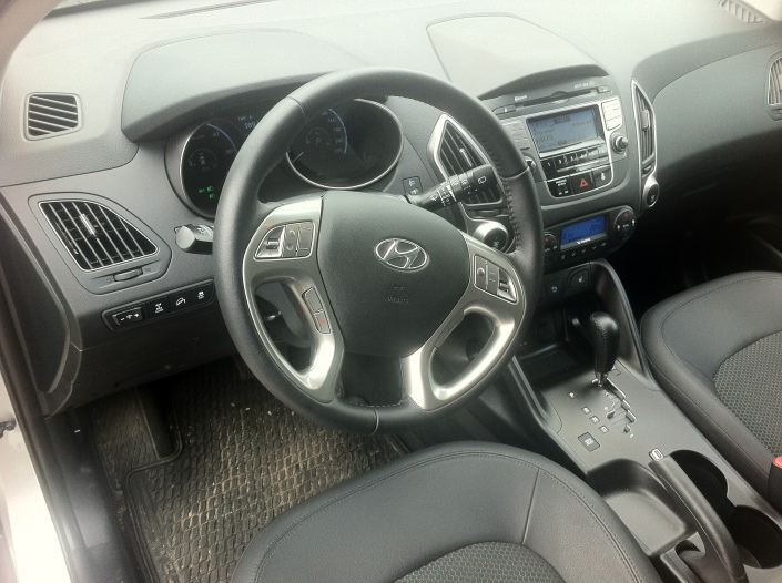 Dashboard - Hyundai ix35