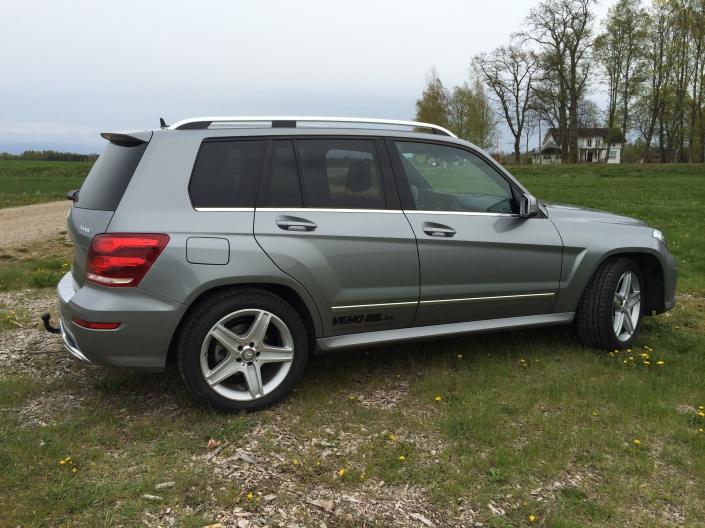 Right Side - Mercedes-Benz GLK 220 CDI