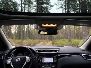 Nissan Qashqai: Panorama soltak