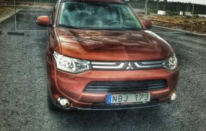 SUV-test: Mitsubishi Outlander