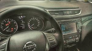 SUV-test: Nissan Qashqai Dashboard