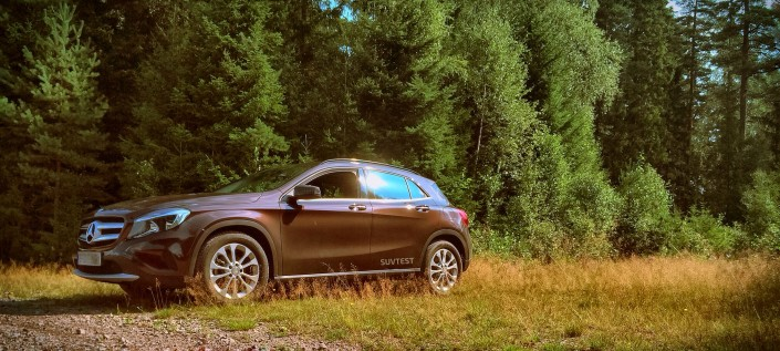 SUV-test: Mercedes GLA