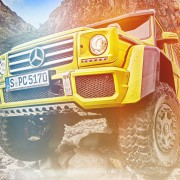 Mercedes G500 4×4 Squared