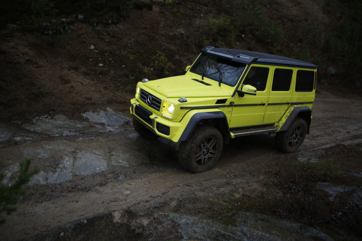 Mercedes-Benz G 500 4×4² - The G-Class Squared
