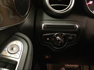 Mercedes GLC ljusomkopplare
