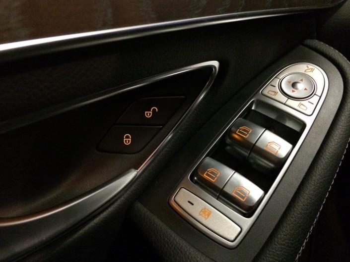 Mercedes GLC elhissar elspeglar