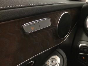 Mercedes GLC stolsvärme högtalare