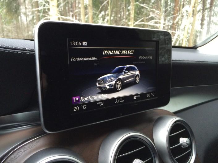 Mercedes GLC Dynamic Select