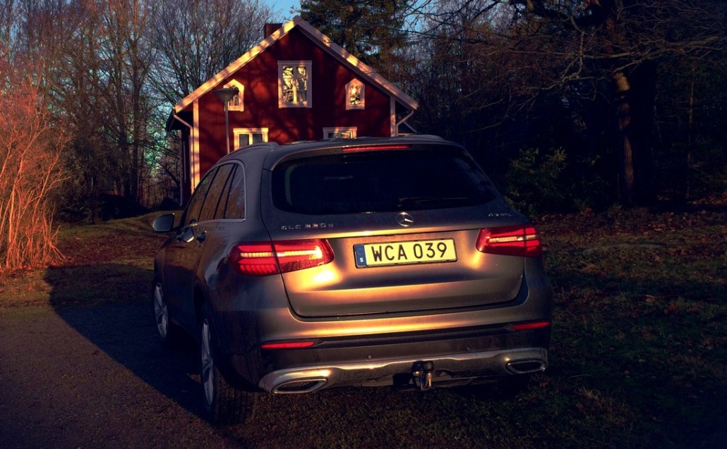 Mercedes GLC in Pålsboda