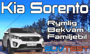 SUV-test: Kia Sorento