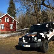 Jeep Wrangler i Pålsboda