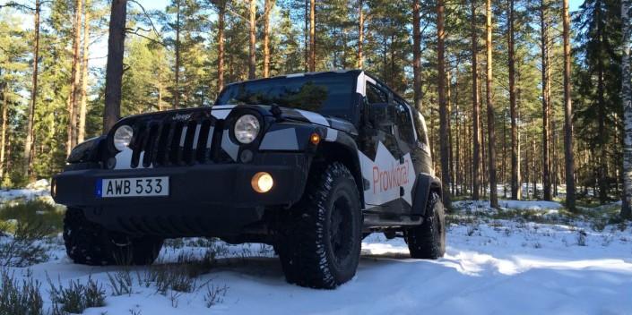 SUV-test: Jeep Wrangler