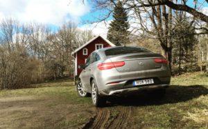 Mercedes-Benz GLE 400 Coupé i Pålsboda, Hallsberg - SUVTEST.se