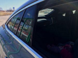 Mercedes GLE Coupé - Nedfällning av bakruta