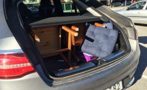 Mercedes GLE Coupé - Kiosklucka till lastutrymmet