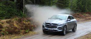 Mercedes-Benz GLE Coupé - Post Water Splash - SUVTEST.se