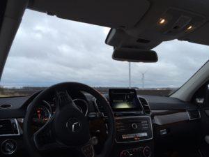 2017 Mercedes-Benz GLS 350d 4MATIC - Dashboard - SUVTEST.se