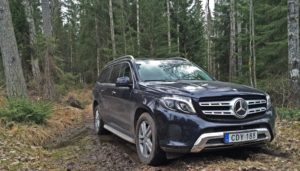 Mercedes-Benz GLS - Out of the forest - SUVTEST.se