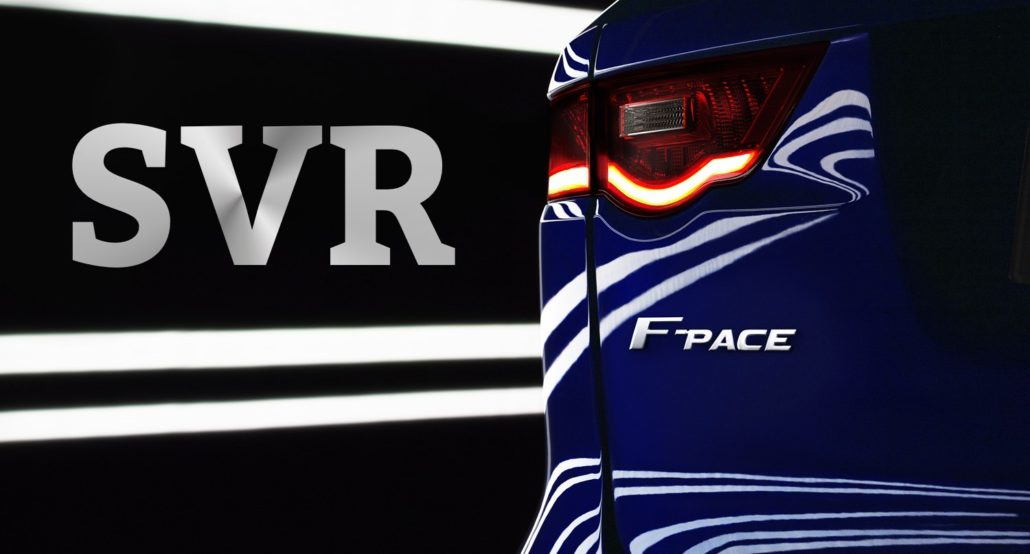 Jaguar F-Pace SVR på G