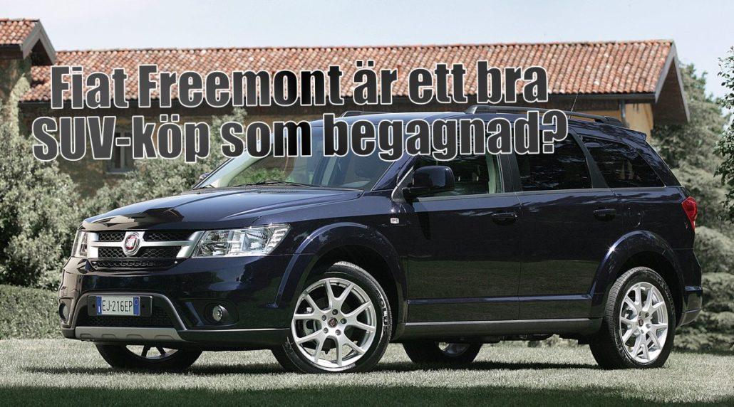 Är sjusitsiga Fiat Freemont en bra SUV som begagnad?