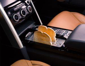 Brödrost i en Range Rover