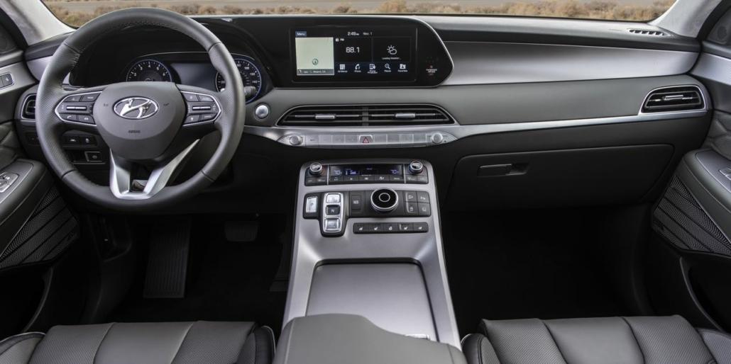 2020 Hyundai Palisade interiörbild