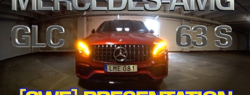 Videopresentationer på svenska av Mercedes-AMG GLC 63 S