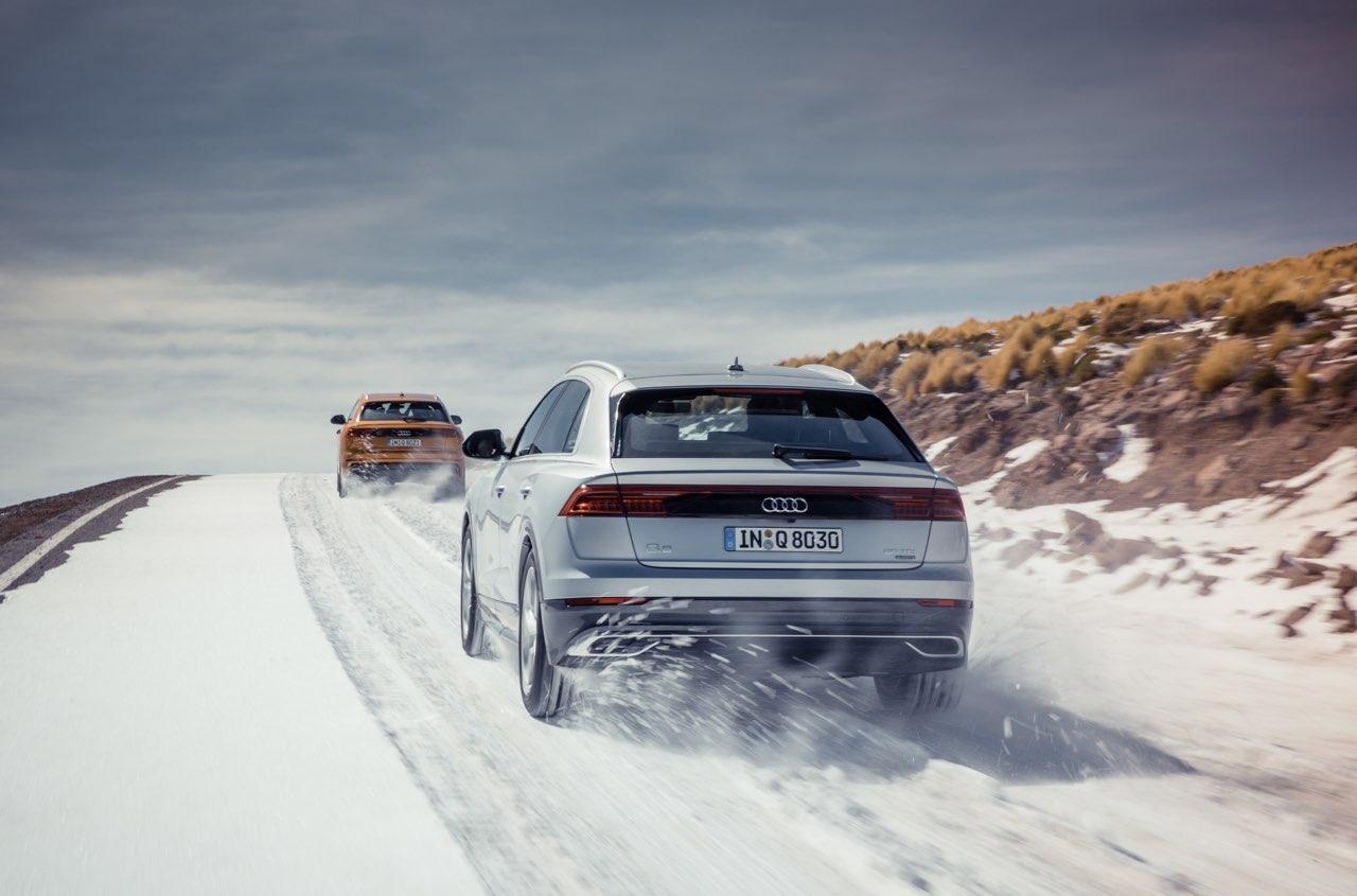 Audi Q8: Presentation och konfiguration @ SUVTEST