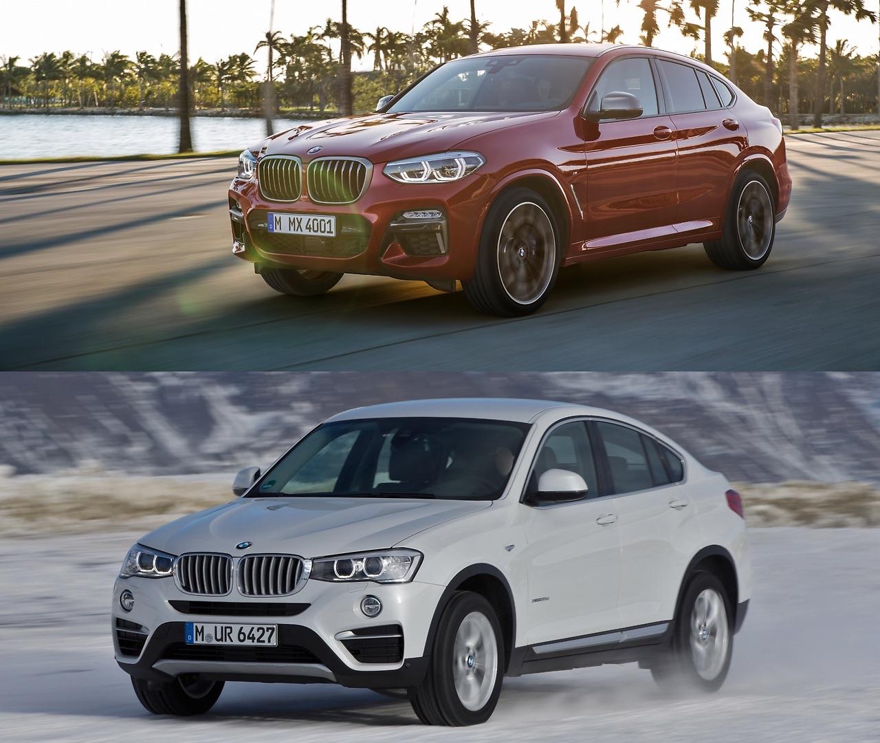 BMW X4 G02 versus BMW X4 F26