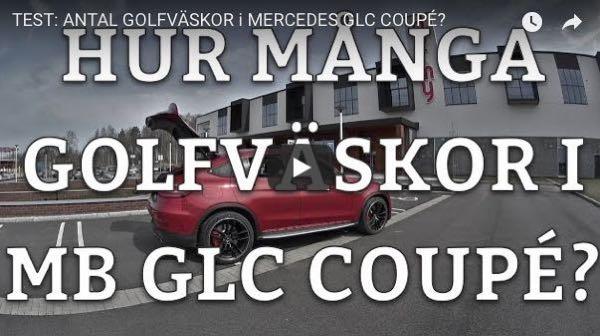 Hur många golfbagar ryms i Mercedes-AMG GLC 63S?
