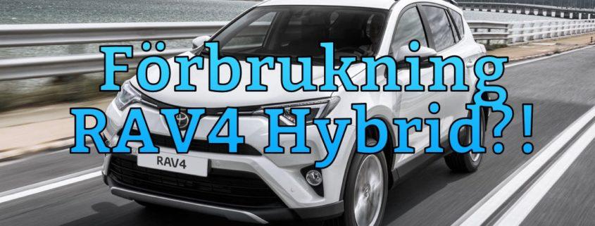 250 mil senare - Bensinförbrukningen hos Toyota RAV4 Hybrid