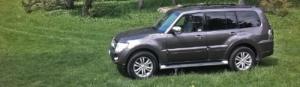 Första SUV-testet: Mitsubishi Pajero