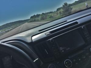 RAV4 on the highway