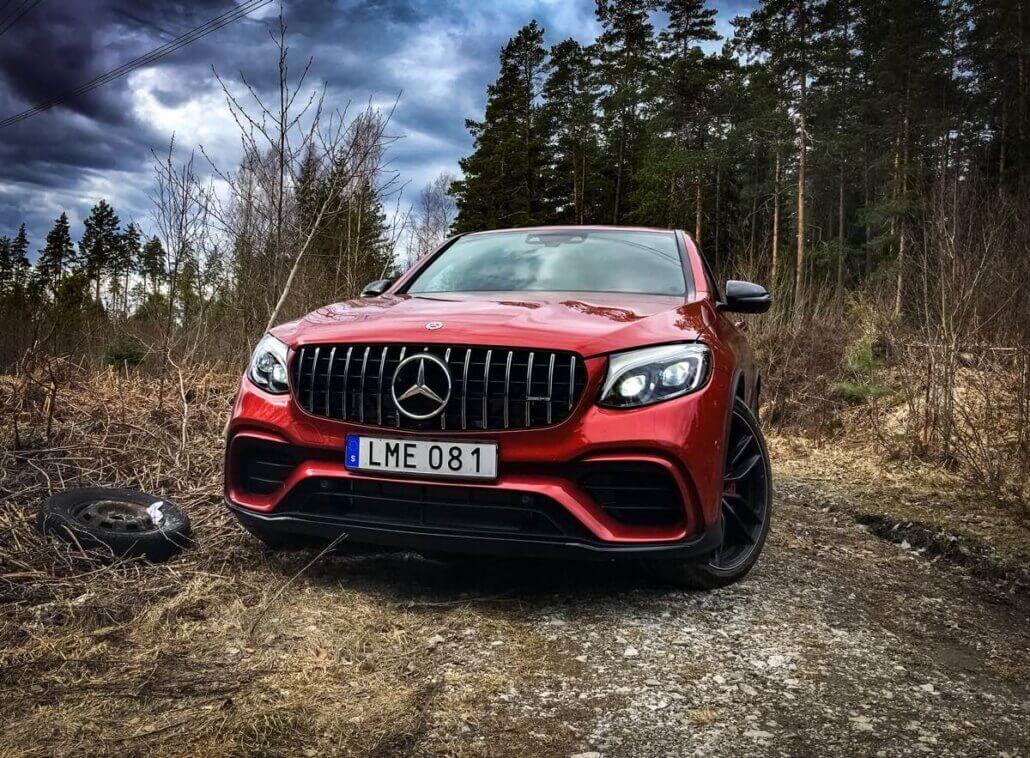 Recension av Mercedes-AMG GLC 63S Coupé av Björn Sennbrink för SUVTEST