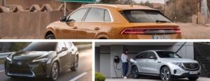 Tre nya Premium-SUV:ar 2019